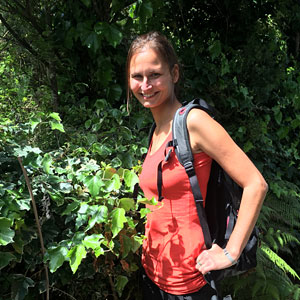 Katerina - a guide at Walking By Nature