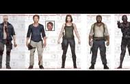 Primeiras imagens da quinta coleção de bonecos oficiais de The Walking Dead inspirados na série de TV