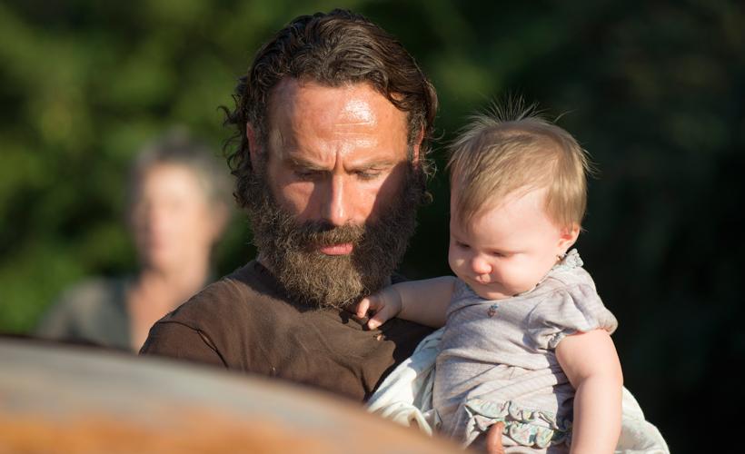 A carinhosa e significativa relação paternal entre Rick e Judith