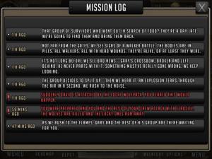 Scavenger Mission - Mission Log