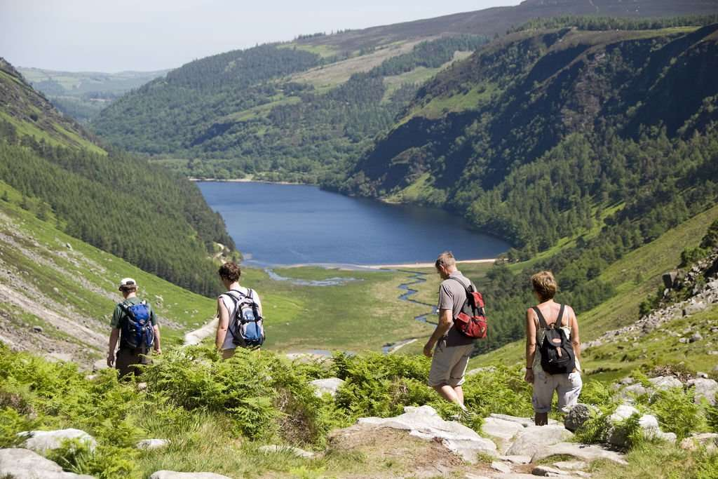 Glendalough makes the Wicklow Way on of the best hill walk tours in Ireland