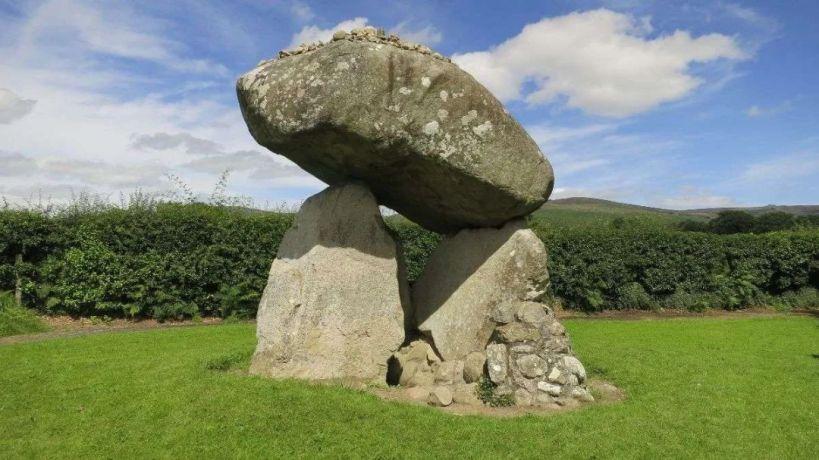 Proleek Dolmen in the Cooley peninsula