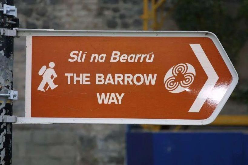 The Barrow Way Sign