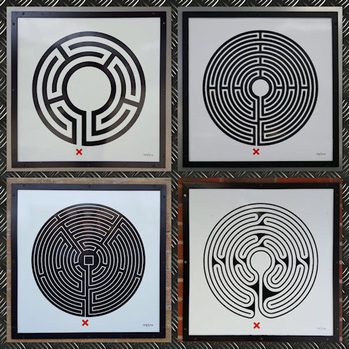Labyrinths on the Underground