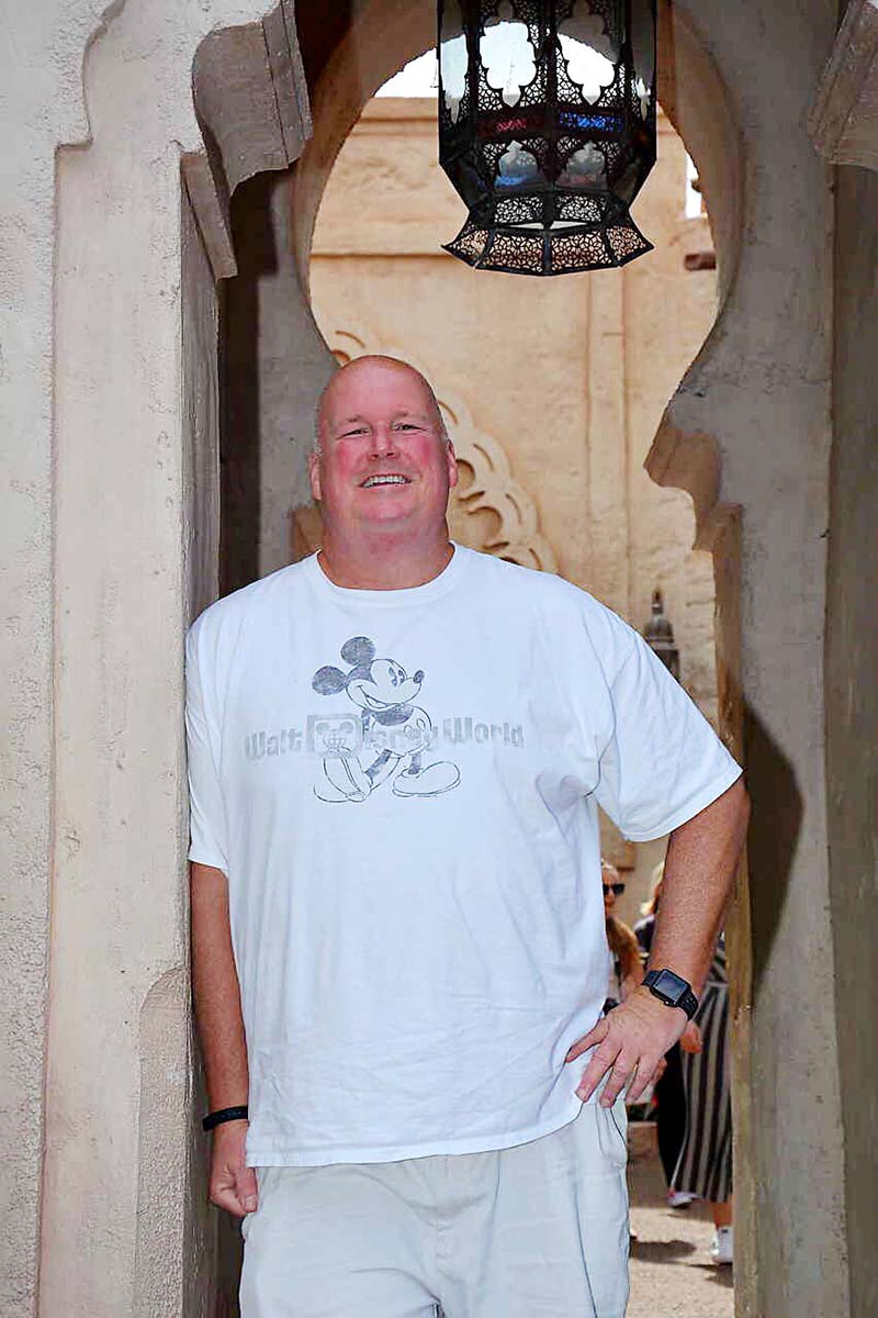 Lost 82 Pounds eating keto at Disney World