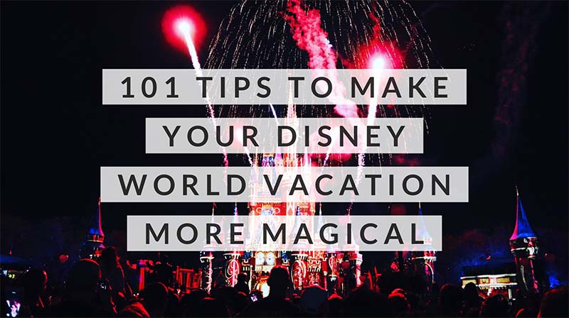 Tips To Make Your Disney World Vacation More Magical