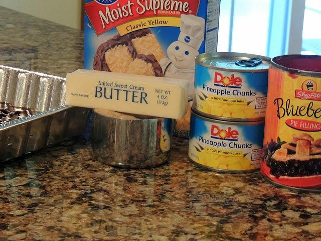 Blueberry Crunch Recipe Using Cake Mix