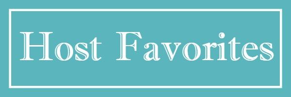 Host Favorites with Mason Jar Blue Box
