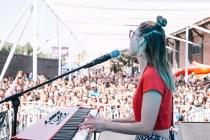 Francisca Valenzuela en vivo en Ruidosa Fest SCL en Matucana 100 - Fotos de Rosario Oddo - 11.03.2017 - 9