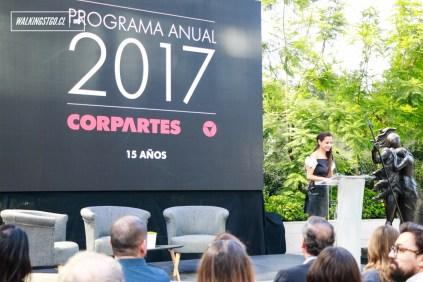 LANZAMIENTO PROGRAMACIÓN CORPARTES 2017, JUEVES 12 DE ENERO - WalkingStgo - 1