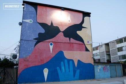 """Los Habitantes"" de Alejandro ""Mono"" González, Seth (Francia), Jano, Basti y Seba - 2011"
