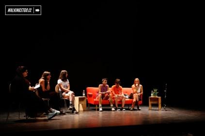 """PANEL 1 """"DESDE LA MÚSICA"""" en Ruidosa Fest SCL en el Centro Cultural Matucana 100 - 11.03.2017 - WalkingStgo - 1"""