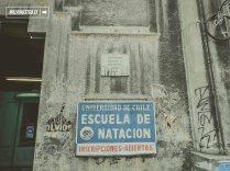 Piscina de la Universidad de Chile - Luciano Kulczewski - Monumento Nacional - © WalkingStgo - 2
