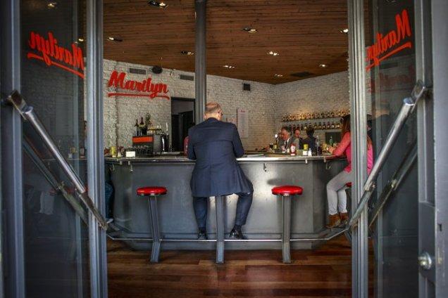 El restaurante Marilyn forma parte de la nueva ola de locales de sánguches en la capital chilena. Credit Víctor Ruiz Caballero for The New York Times