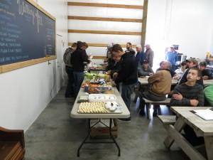 Finish Line buffet
