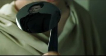 The spoon bending scene from the Matrix