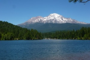 Mt. Shasta by Siskiyou Lake