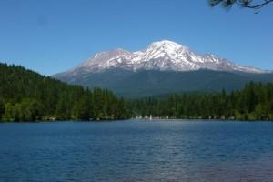 Mt. Shasta by Siskiyou Lake