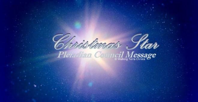 Christmas Star - Jupiter Saturn 2020 Pleiadian Council - Master Benaatria by Walkingterrachrista