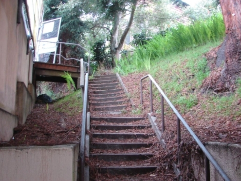 How To Build Wood Stairs Over Concrete Steps Shut42Avn   Wood Steps Over Concrete Steps   Cement   Concrete Patio   Brick   Stair Stringers   Curb Appeal