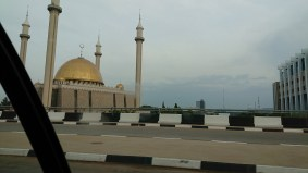 Mosque in the captial city of Abuja, Nigeria