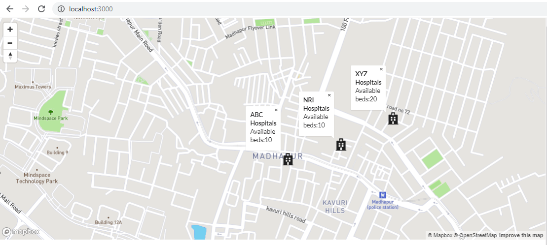 Play with Maps in React using MapBox - WalkingTree Technologies