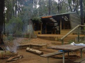 White Horse Hills campsite