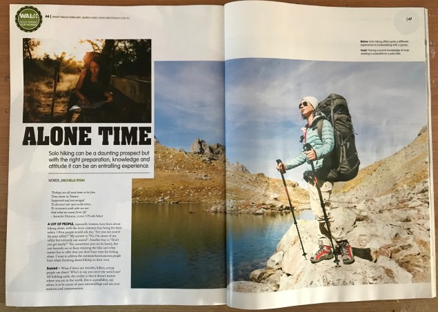 alone time great walks mag
