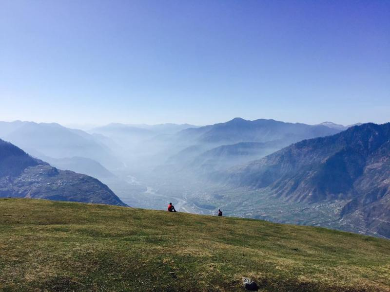 beautiful view from the top of bijlimahadev