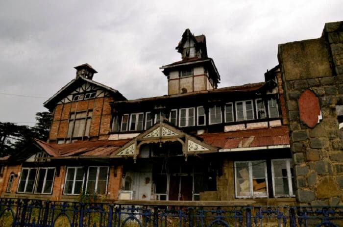 Charleville Mansion most haunted place in shimla