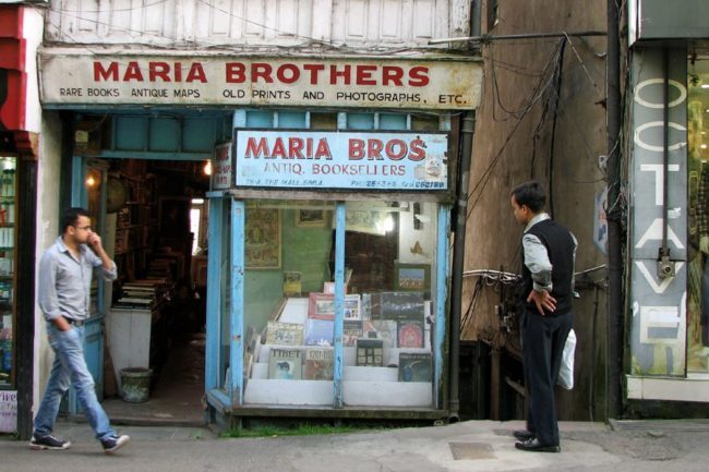 Maria Brothers shimla book store antique