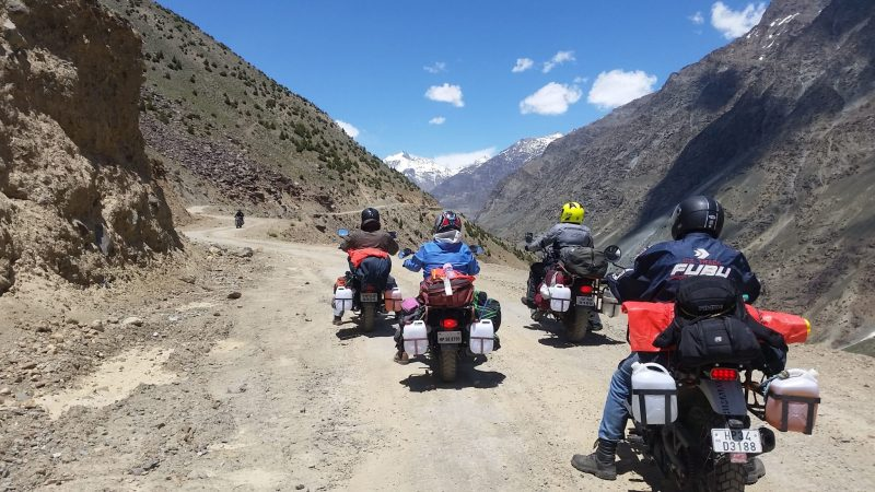 bike tour to spiti