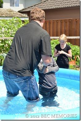 Sissy's Baptism
