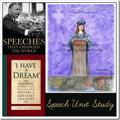 Speech Unit Study