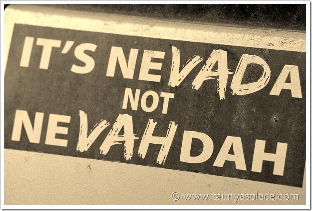 Shooting in the Desert - It's Nevada not NeVAHdah!