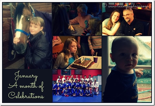 2013 Year in Review: January 2013 - A Month of Celebrations