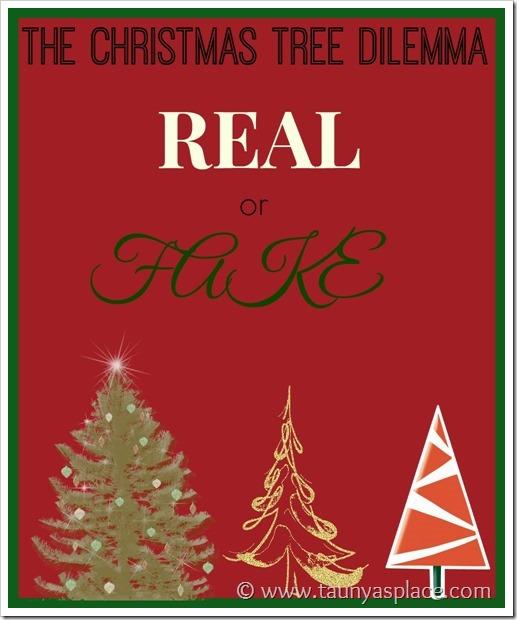 Christmas Tree Dilemma: Fake or Real?
