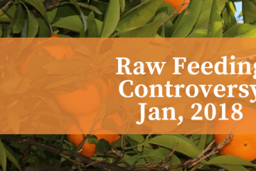 Raw feeding controversy. orange trees