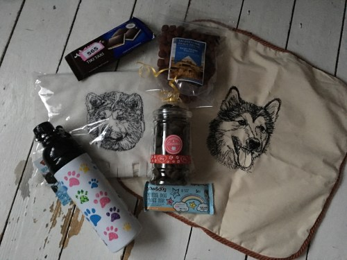 Dog goodies from Dogmania