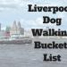Dog walking bucket list