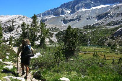 543 Evolution Valley to Le Conte Canyon