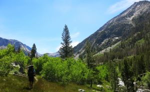 551 Le Conte Canyon to Upper Palisade Lake