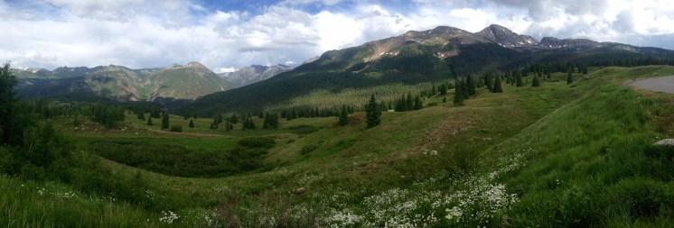 Molas Pass, elevation 10,910 ft