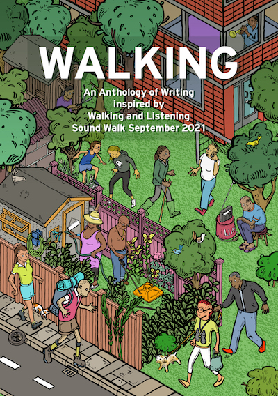 WALKING chapbook cover