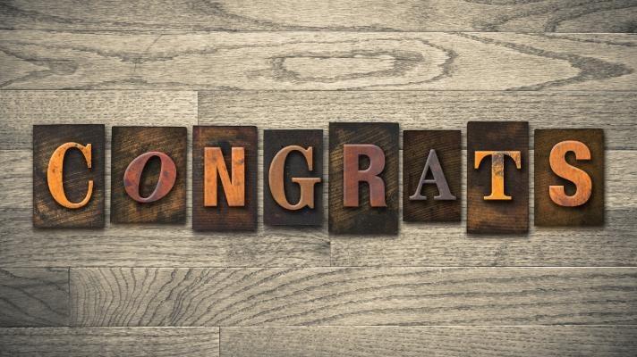 Congratulations Jonathon!