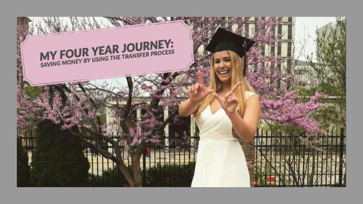 My Four Year Journey: Saving Money by Using the Transfer Process
