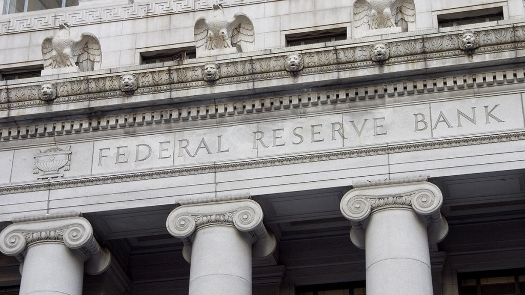 The Federal Reserve, the facade of which is pictured, has been a key factor in QE