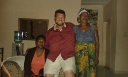 We enjoyed visiting with the family we stayed with for 3 months when we originally came in 2012. They consider us family and we consider them family, too. Florence (the mom of the home - to the left of Robert and Mama (the matriarch of the family).