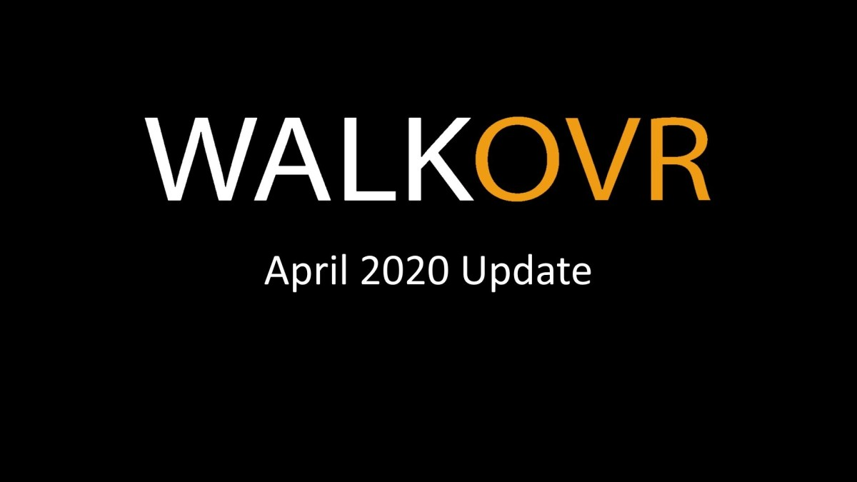WALKOVR 2020年XNUMX月の更新