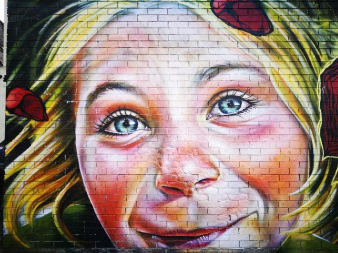 Birmingham Digbeth Graffiti Art 35